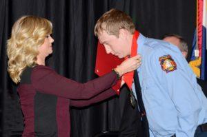 Red Cross hero recipient
