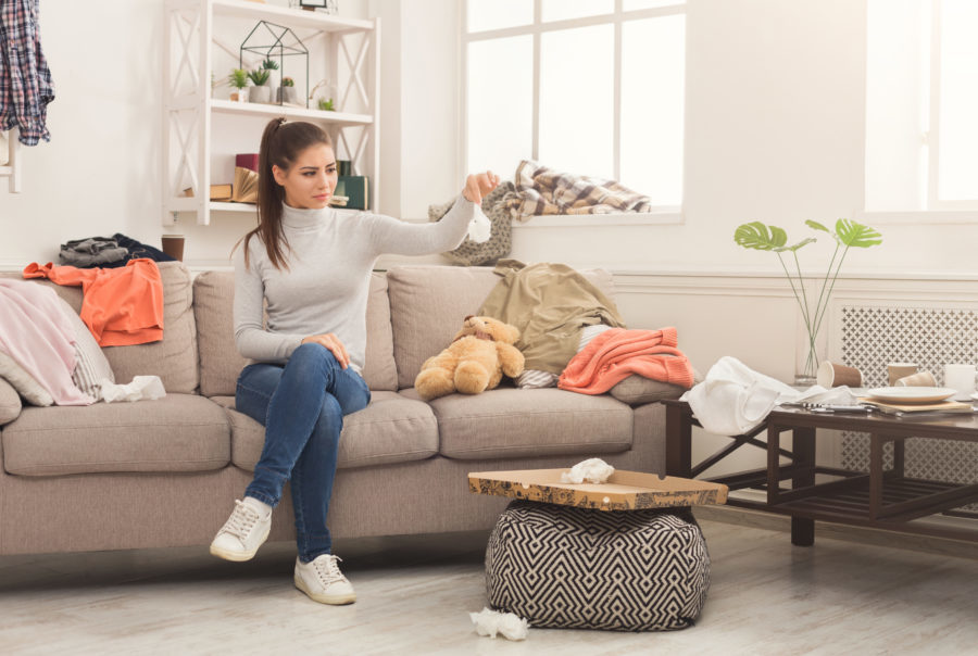 Does Clutter Cause Anxiety?