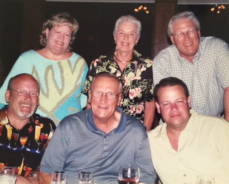Photo of the Burnam family.