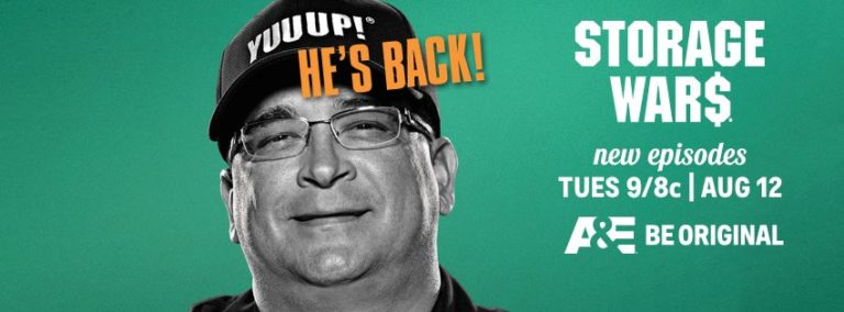Dave Hester returns to A&E Storage Wars