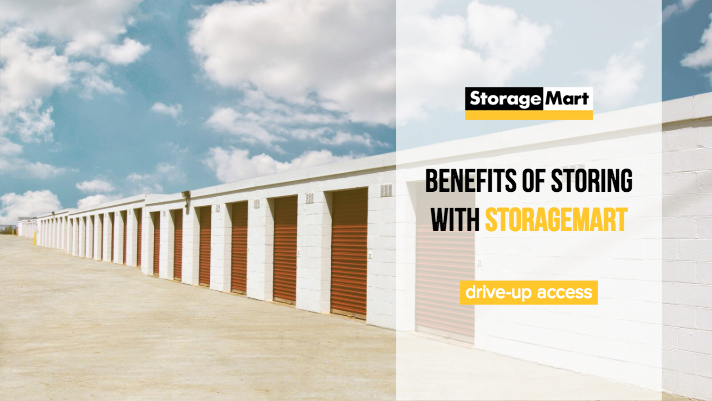 Drive Up Access to storage units with StorageMart
