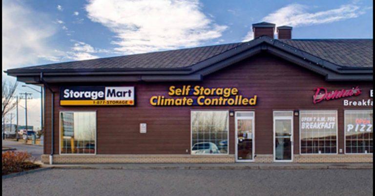 Storage units in Edmonton   StorageMart