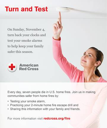 Test and Turn with The American Red Cross