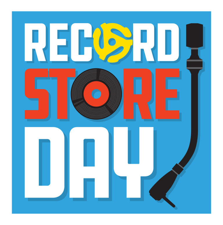 """A logo reading """"Record Store Day"""""""