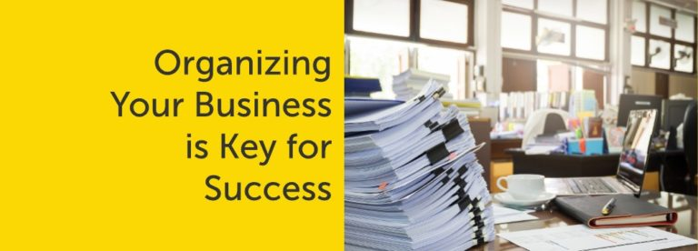 Organizing Your Business