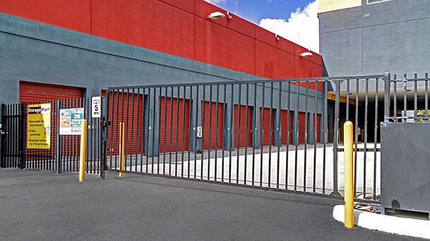 StorageMart self storage units have restricted access
