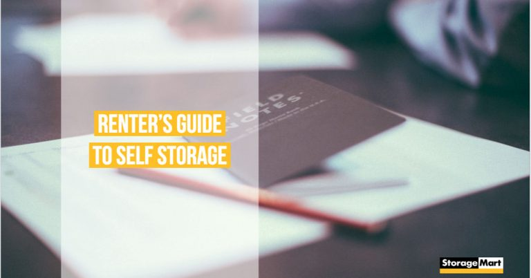 Guide to a self storage unit as a renter