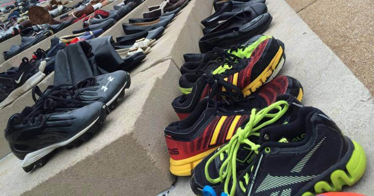 Shoe in for Foster Care