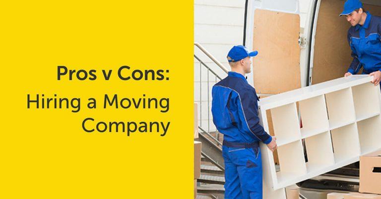 Hire a moving company?