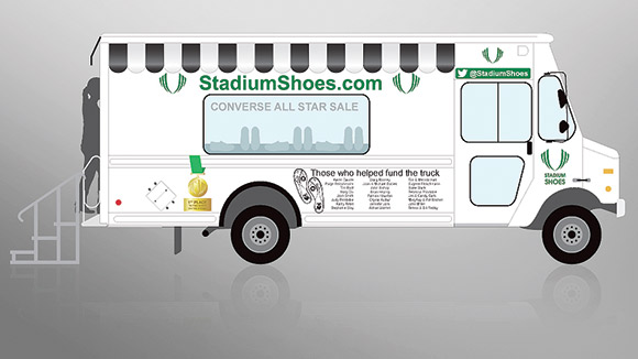 Stadium Shoes Truck