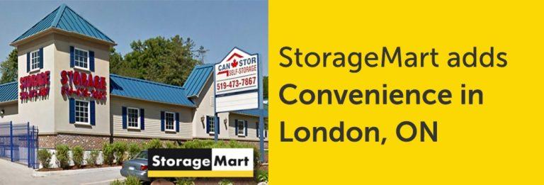 New StorageMart in London