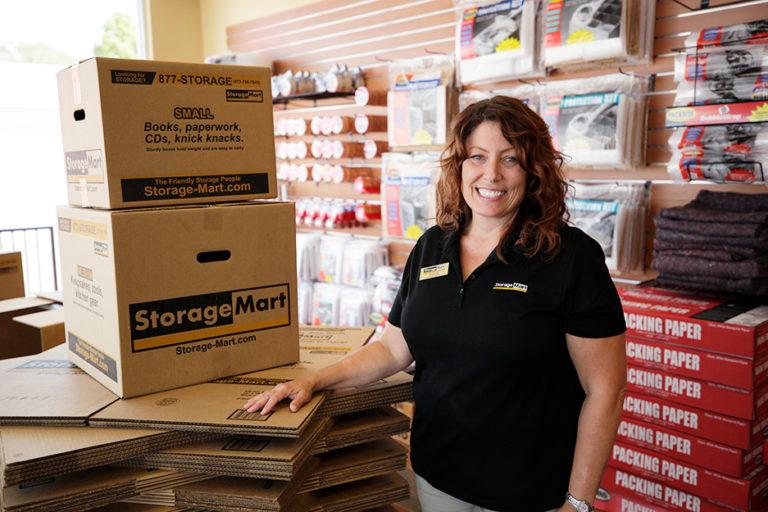Benefits of storing with StorageMart