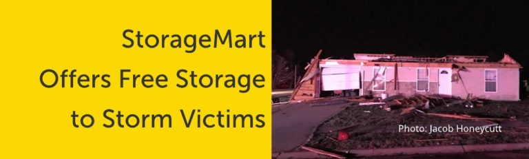 Storage for Storm Victims