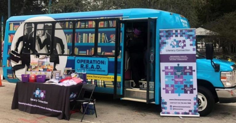 The Literacy Connection Bus