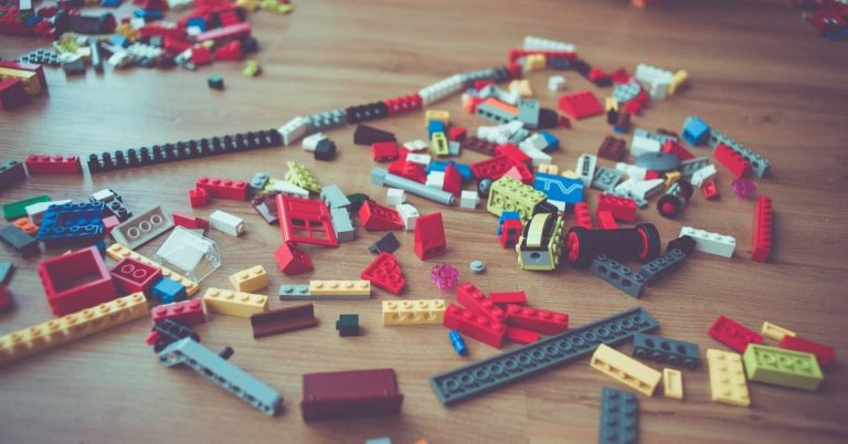 messy legos