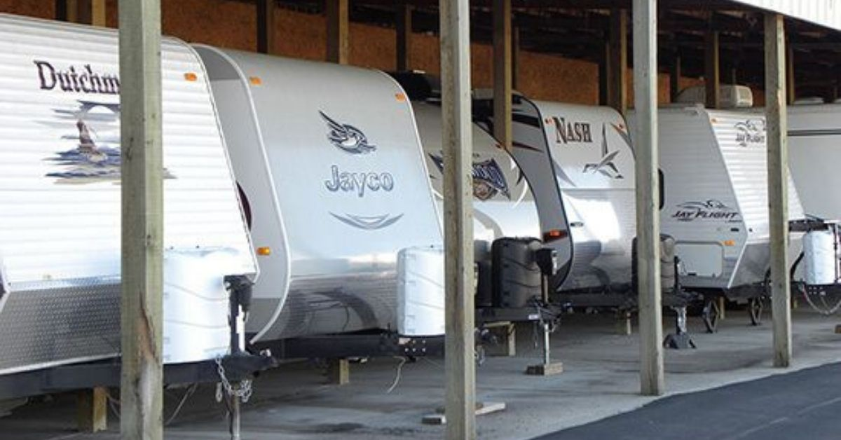 RVs in covered parking