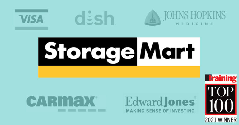 Proud to be a Training Top 100 Winner in 2021   StorageMart